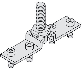 Suspension Plate, With Bolt, M10