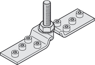 Suspension Plate, With Hanger Bolt, M12