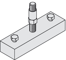 Suspension Plate, With Suspension Bolt M12