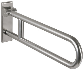 Swing-Up Grab Bar, Stainless Steel