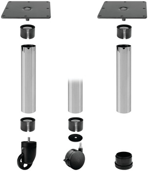 Table Leg Tube, Ø60 mm Component System