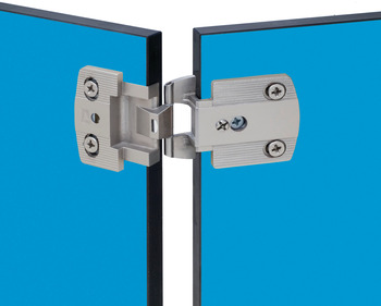 Thin Panel Institutional Hinge, Aximat® 300, Grade 1, Zinc Alloy