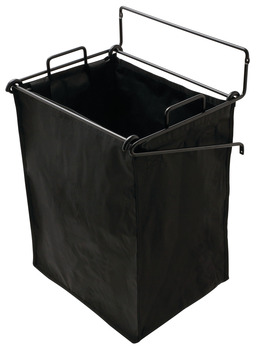 Tilt-Out Hamper, with Removable Black Bag, Synergy Collection