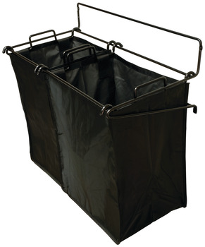 Tilt-Out Hamper, with Removable Black Bag, TAG Synergy Collection