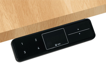 Touch Basic 4-Setting Programmable Hand Switch, for Clever Table Base System
