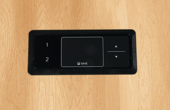 Touch Inlay 2-Setting Programmable Hand Switch, for Clever Table Base System