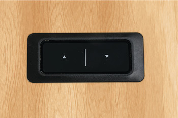 Touch Inlay Up/Down Hand Switch, for Clever Table Base System