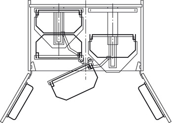 Tray Set, for Base Pull-Out