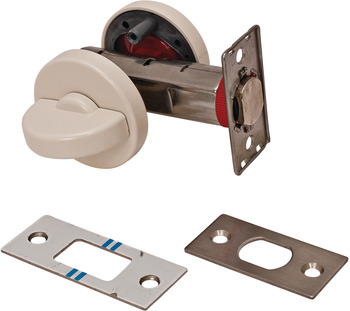 Tubular Deadbolt, with Turnpiece and Emergency Release