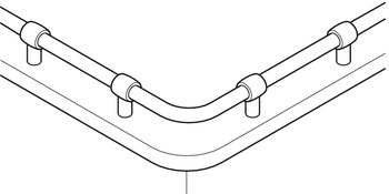 Tubular Rail, Kitchen Rail System
