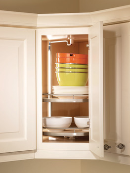 Twister Set, Melamine, Two or Three-Tray, for Upper Cabinets
