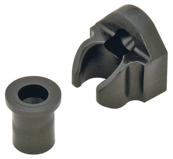 Uni-Connector, Plastic, Black