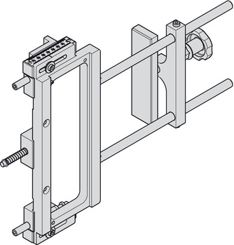 Universal Routing Jig, for Startec® H2/H7 Hinges