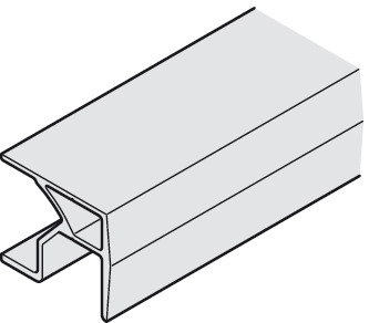 Upper Track, For Screw Mounting