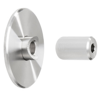 Wall Attachment, with 5mm (3/16) Spacer