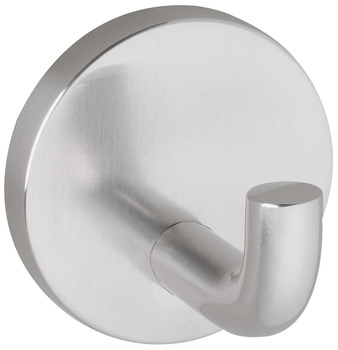 Wall Mounted Hook, Stainless Steel, Brushed