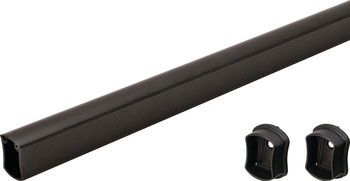 Wardrobe Tube with End Supports, Signature Collection