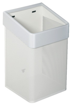 Waste Basket, Free Standing or Wall Mounted