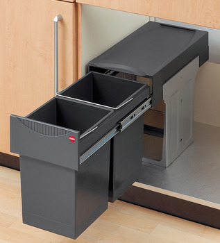 Waste Bin Pull-Out, Hailo Easy Cargo 30