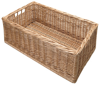 Wicker Basket, Free Standing