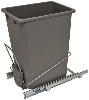 Wire Waste Bin System, Single