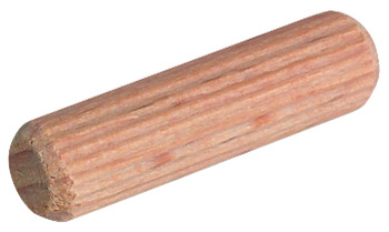 Wood Dowel, Fluted