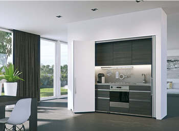 Wooden Folding Sliding Doors, Hawa Folding Concepta 25