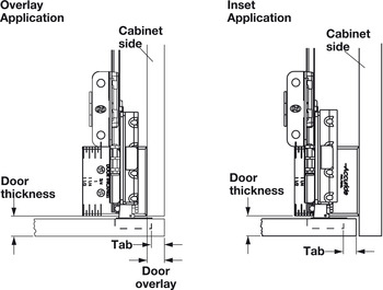 Wooden Pivot Sliding Doors, Accuride 1321 Pro Pocket™
