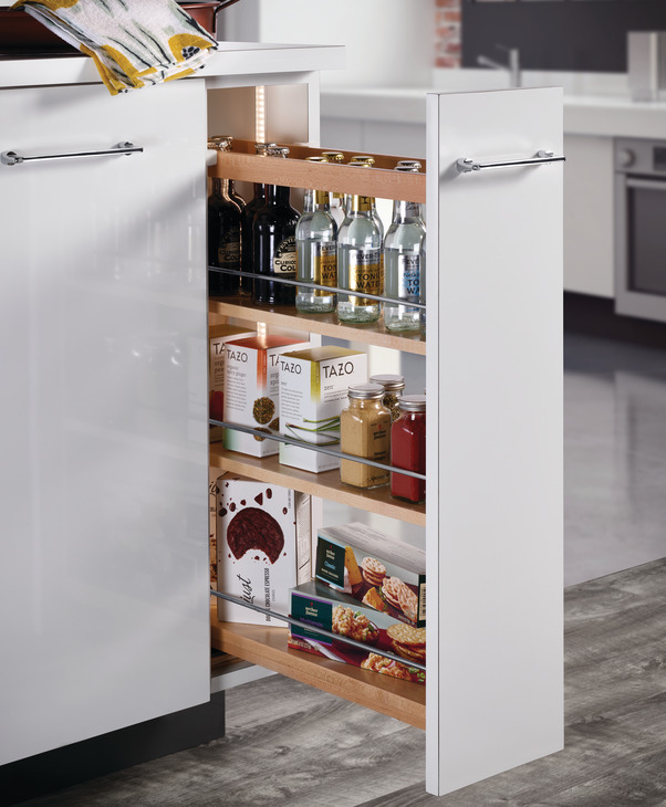 Us Cabinet: Base Cabinet Pull-Out, With Grass Elite Undermount Slides
