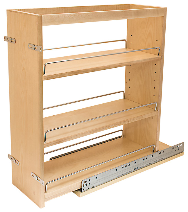 Base Cabinet Pull Out With Grass Elite Undermount Slides