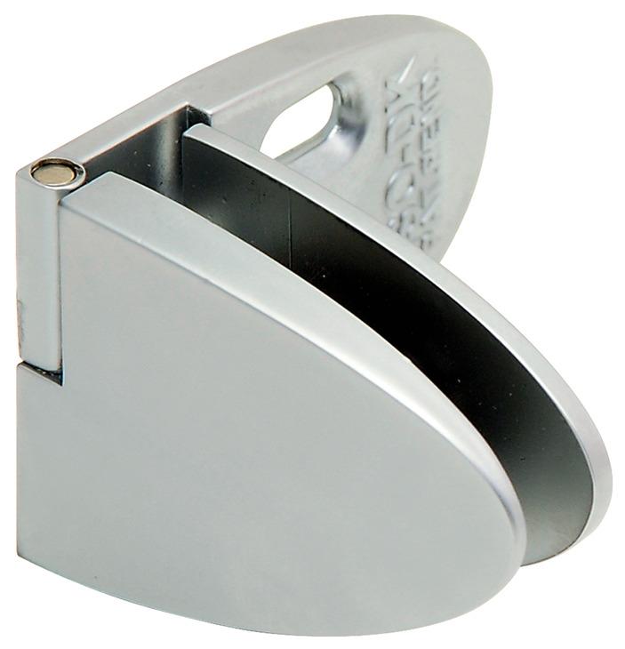 center door hinge for inset glass door