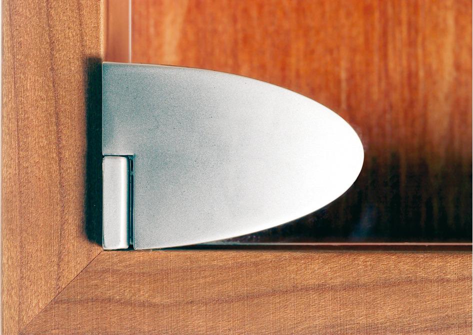 Center Door Hinge For Inset Glass Door In The H 228 Fele
