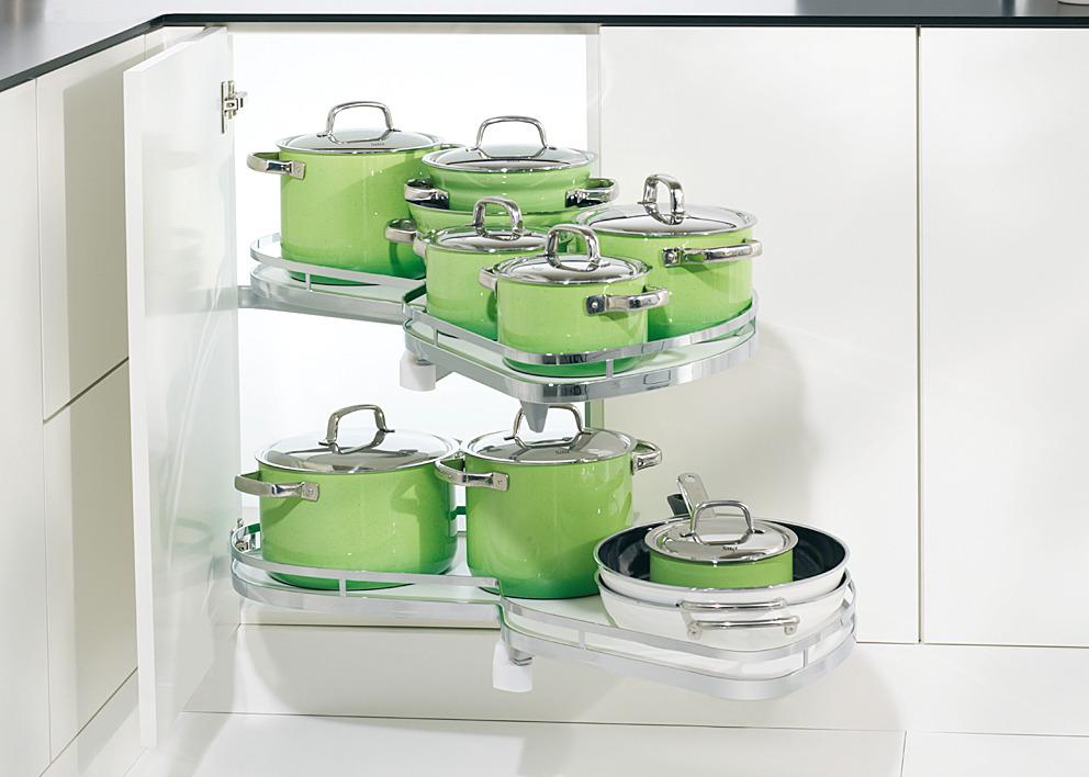 LeMans II Set, for Blind Corner Cabinets - in the Häfele America Shop