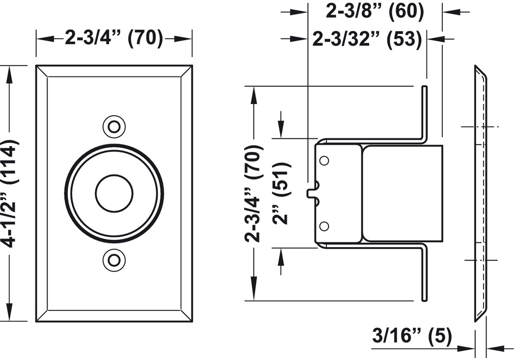 01203742_0 door holder, electro magnetic in the h�fele america shop magnetic door holder wiring diagram at readyjetset.co