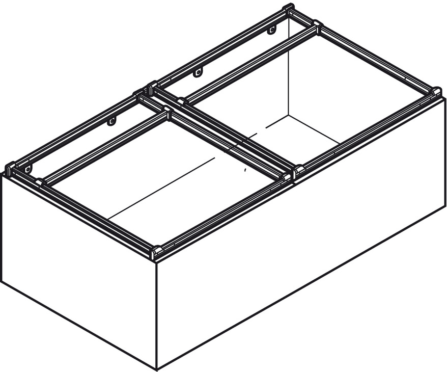 File Frame Kit, for Wood or Metal Drawers - in the Häfele America Shop