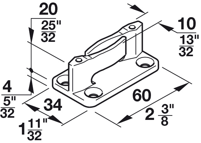floor guide  with zero clearance  for screw fixing