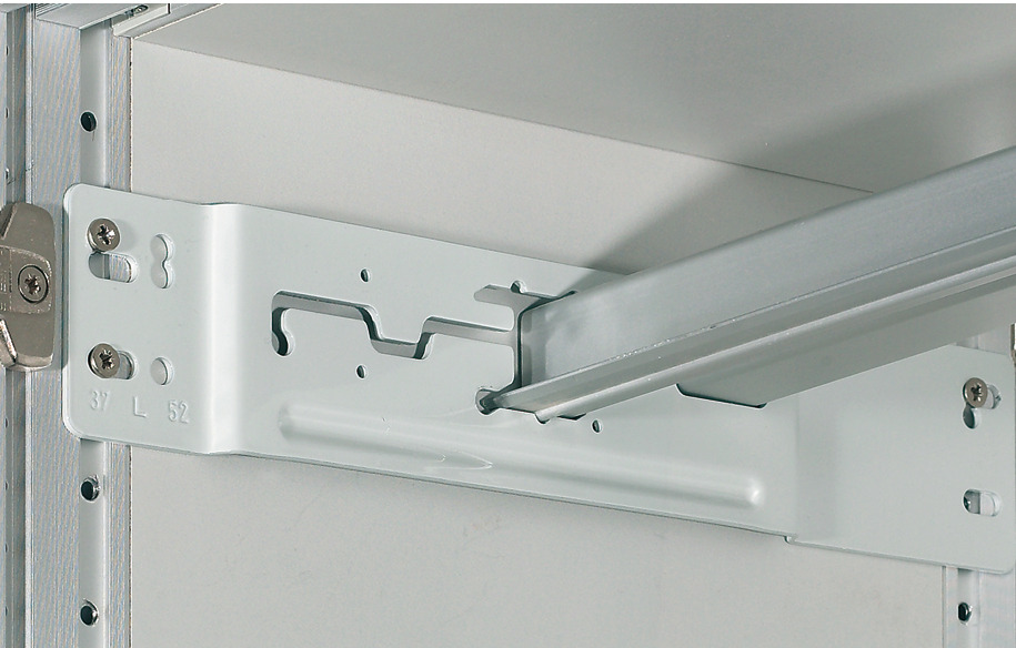 Flush Mount Bracket For Hanging File System In The