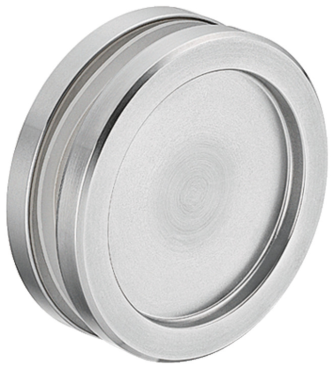 Flush Pull Handle For Glass Sliding Doors, Closed Type