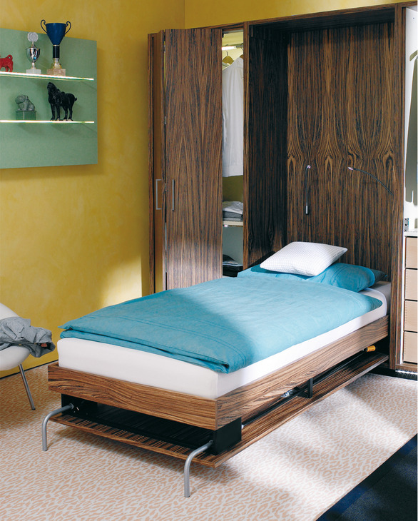 Foldaway Bed Fitting Set For Lengthwise Mounting In The Hafele