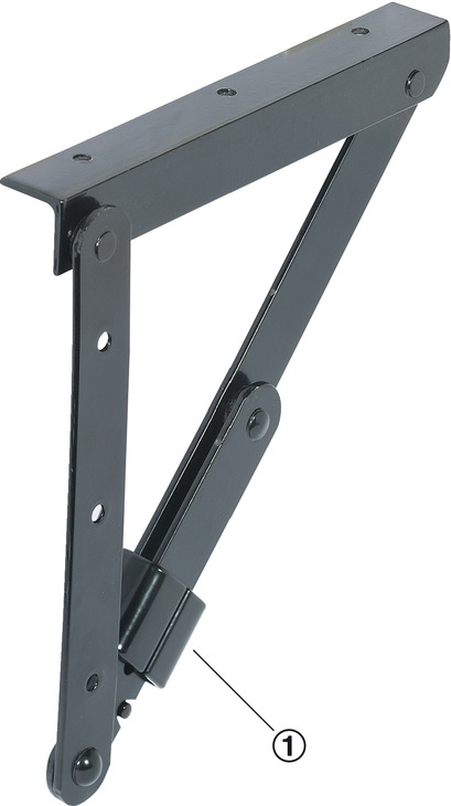 Folding Bracket For Tables And Benches In The H 228 Fele