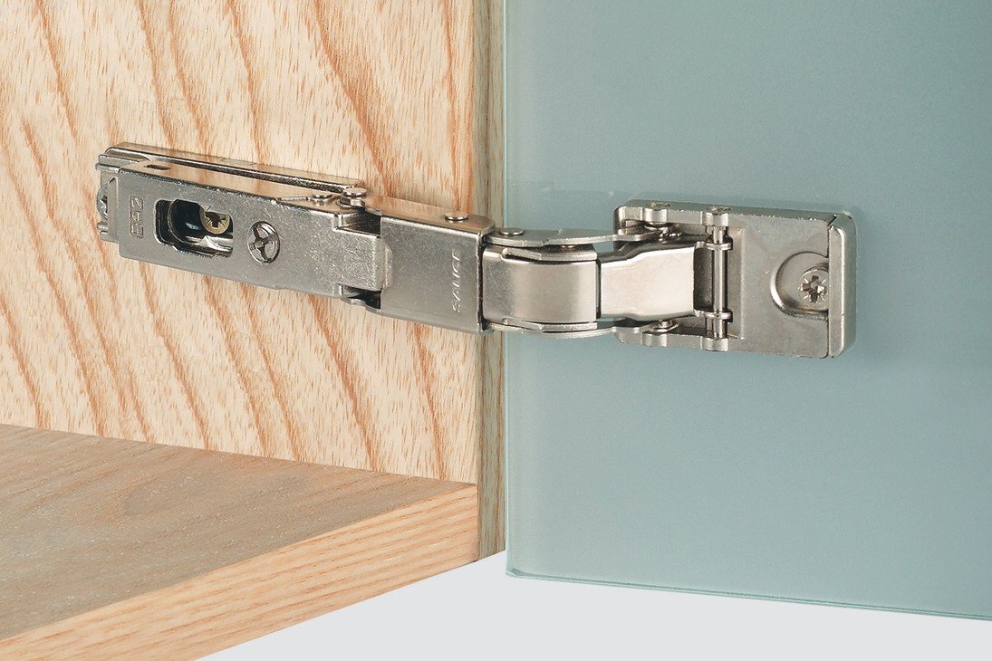 Glass Door Concealed Hinge, Salice, 110° Opening Angle, Self Closing ...
