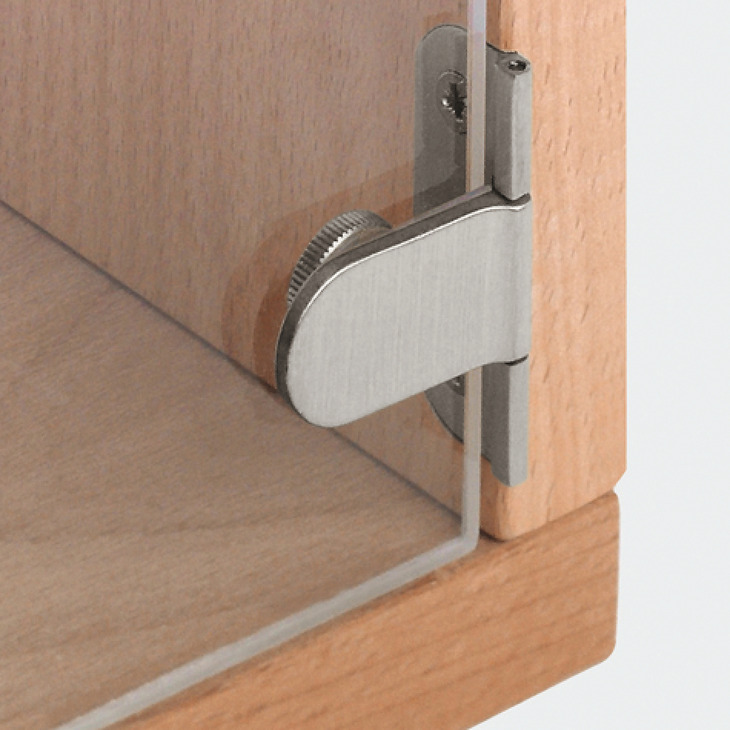 Glass Door Hinge 180 Opening Angle 6 Mm