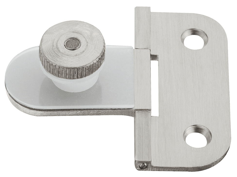 Glass Door Hinge 180 Opening Angle 6 Mm Glass In The Hfele