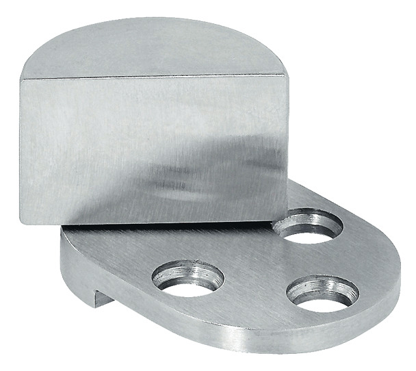 Glass Door Pivot Hinge Opening Angle 210 Stainless Steel External For Wood Constructions