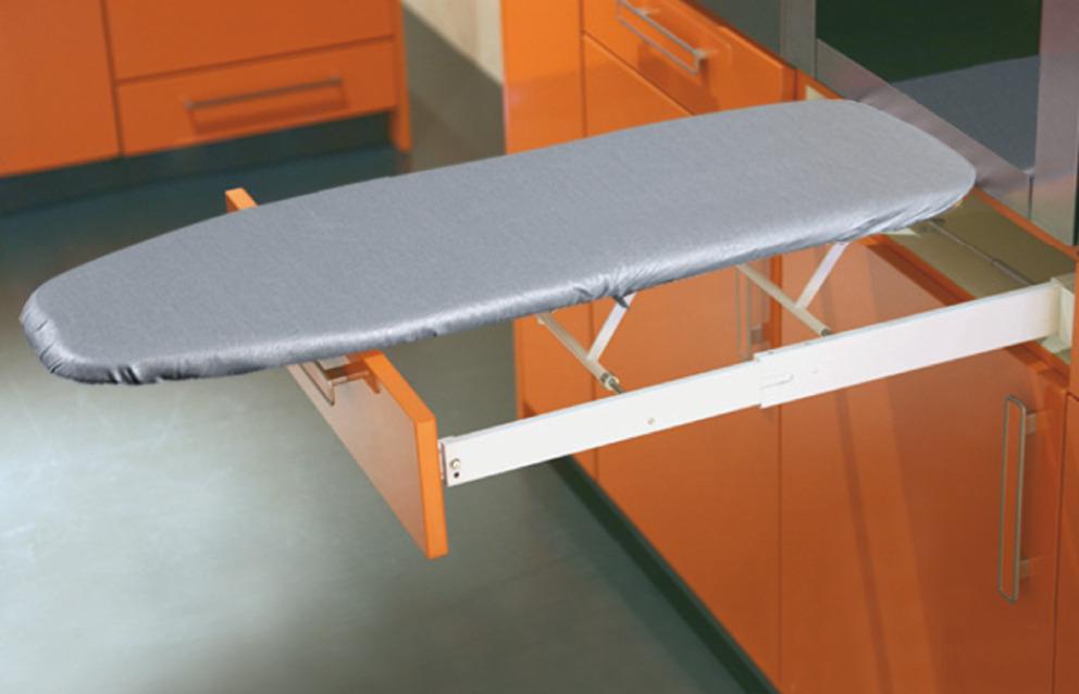 Hafele Ironfix Ironing Board Built In
