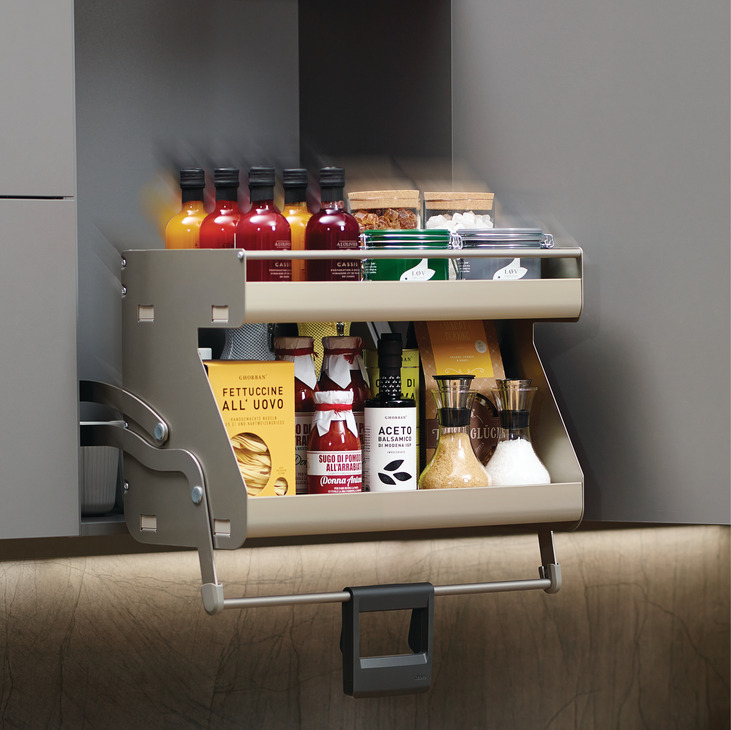 Imove Pull Down Unit For Frameless In The Hafele America Shop