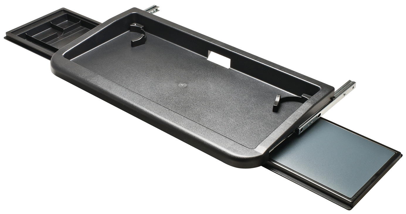 keyboard tray with mouse tray - Keyboard Tray