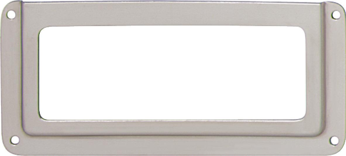 Label Frame, Nickel-Plated, Steel - in the Häfele America Shop