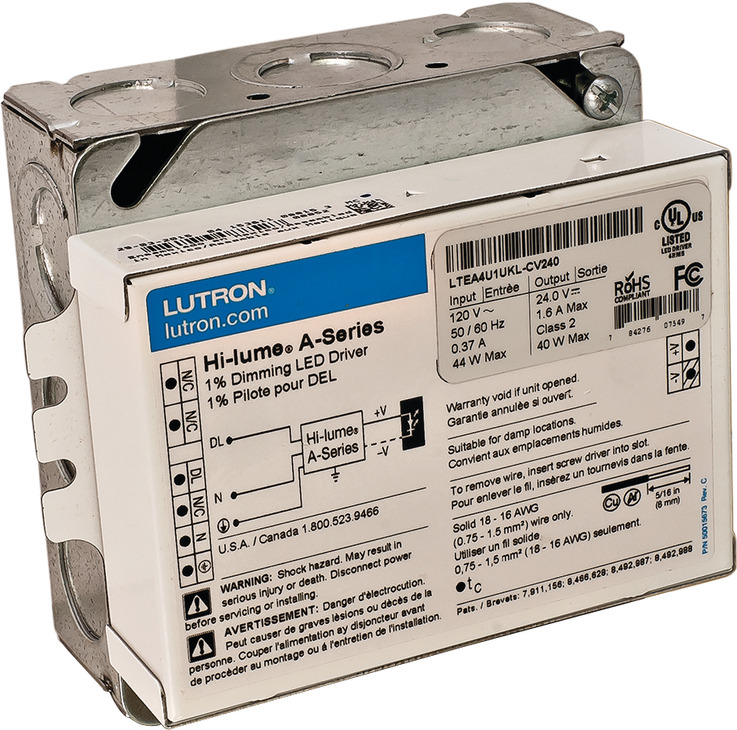 Lutron Dimming LED Driver - in the Häfele America Shop