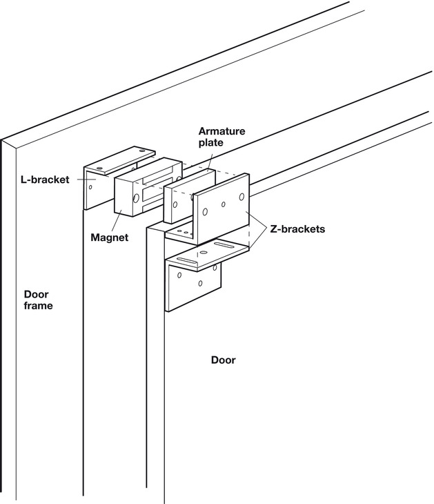 magnetic cabinet lock  mcl1 nano